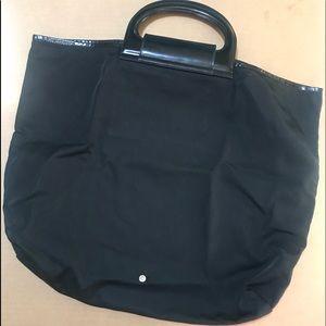 Used Salvatore Ferragamo fold up bag